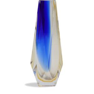 Vase Goccia - Cobalt+Amber - size: S