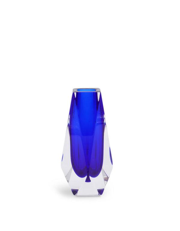 Murano Glass Goccia Vase XS Cobalt