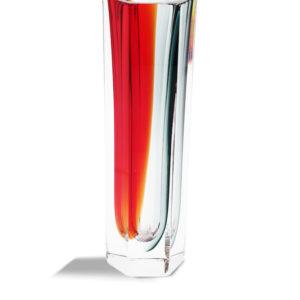 Esagonale - Grigio+Rosso- size: S