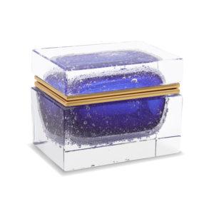 Rectangular - Cobalt Pulegoso - M