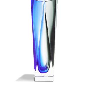 Vase Tulipano - Cobalto+Grigio - size: S
