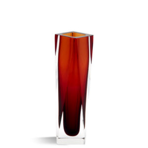 Vase Tulipano - Dark Amber - size: S