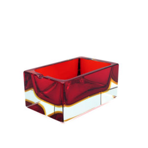 Rectangular - Red+Amber - M