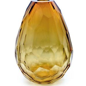 Vase Barrel - Amber - size: XL